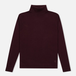 Мужская водолазка Pringle of Scotland Merino Solid Roll Neck Ox Blood фото- 0