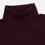 Мужская водолазка Pringle of Scotland Merino Solid Roll Neck Ox Blood фото- 1