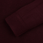 Мужская водолазка Pringle of Scotland Merino Solid Roll Neck Ox Blood фото- 2