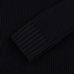 Мужская водолазка Stone Island Ribbed Turtle Neck Black фото- 2