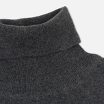 Мужская водолазка Wood Wood Ira Turtleneck Double A Grey Melange фото- 1