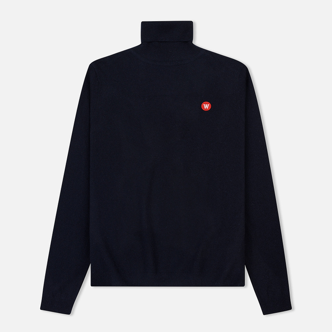 Мужская водолазка Wood Wood Ira Turtleneck Double A Navy