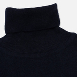 Мужская водолазка Wood Wood Ira Turtleneck Double A Navy фото- 1