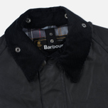 Barbour Bedale Wax Men's Waxed Jacket Black photo- 2