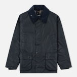 Мужская вощеная куртка Barbour Bedale Wax Navy фото- 0