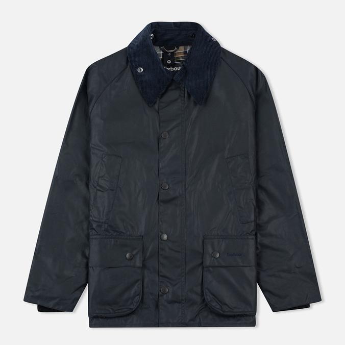 Мужская вощеная куртка Barbour Bedale Wax Navy