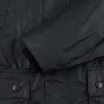 Barbour Bedale Wax Men's Waxed Jacket Navy photo- 6