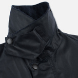 Мужская вощеная куртка Barbour Bedale Wax Navy фото- 3
