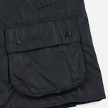 Мужская вощеная куртка Barbour Bedale Wax Navy фото- 4