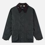 Мужская вощеная куртка Barbour Bedale Wax Sage фото- 0