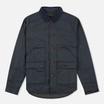 Мужская вощеная куртка Barbour Birkbeck Navy фото- 0