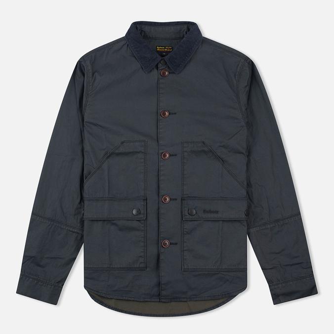 Мужская вощеная куртка Barbour Birkbeck Navy