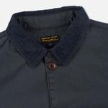 Мужская вощеная куртка Barbour Birkbeck Navy фото- 1