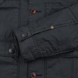 Мужская вощеная куртка Barbour Birkbeck Navy фото- 3