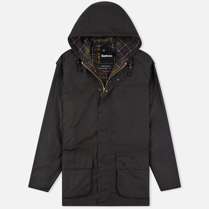 Barbour Durham Wax Men's Waxed Sage