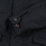 Мужская вощеная куртка Barbour x Land Rover Summer Traveller Navy фото- 6