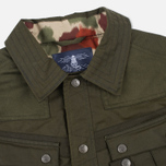 Barbour x White Mountaineering Cusk Slim Wax Archive Waxed Jacket Olive photo- 2