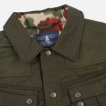 Мужская вощеная куртка Barbour x White Mountaineering Cusk Slim Wax Archive Olive фото- 2