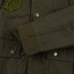 Мужская вощеная куртка Barbour x White Mountaineering Cusk Slim Wax Archive Olive фото- 6