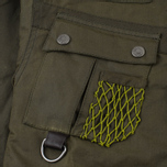 Мужская вощеная куртка Barbour x White Mountaineering Cusk Slim Wax Archive Olive фото- 3