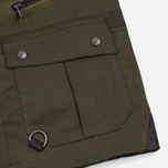 Мужская вощеная куртка Barbour x White Mountaineering Cusk Slim Wax Archive Olive фото- 4