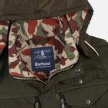 Мужская вощеная куртка Barbour x White Mountaineering Kitefin Slim Wax Archive Olive фото- 2