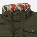 Мужская вощеная куртка Barbour x White Mountaineering Kitefin Slim Wax Archive Olive фото- 3