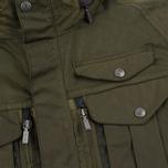 Мужская вощеная куртка Barbour x White Mountaineering Kitefin Slim Wax Archive Olive фото- 4