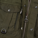 Мужская вощеная куртка Barbour x White Mountaineering Kitefin Slim Wax Archive Olive фото- 6
