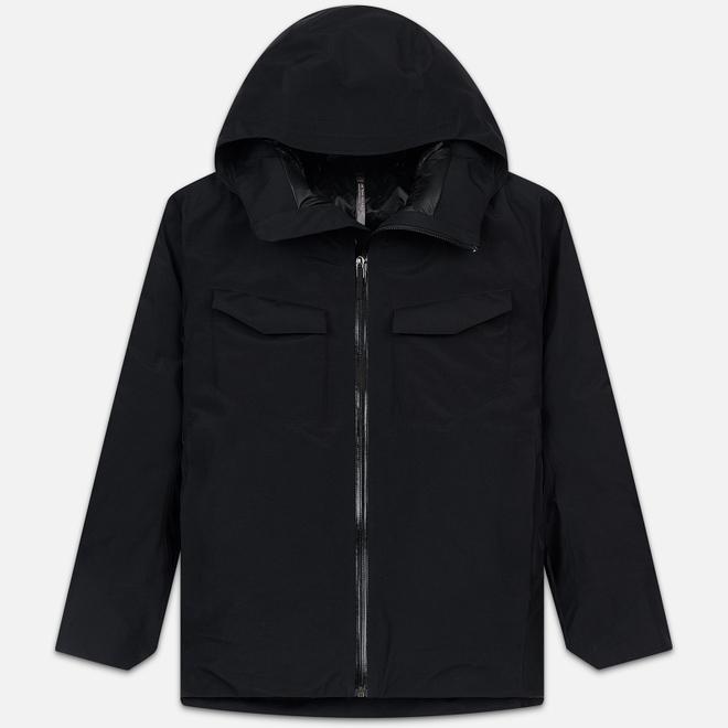 Мужская зимняя куртка Arcteryx Veilance Node Down Black