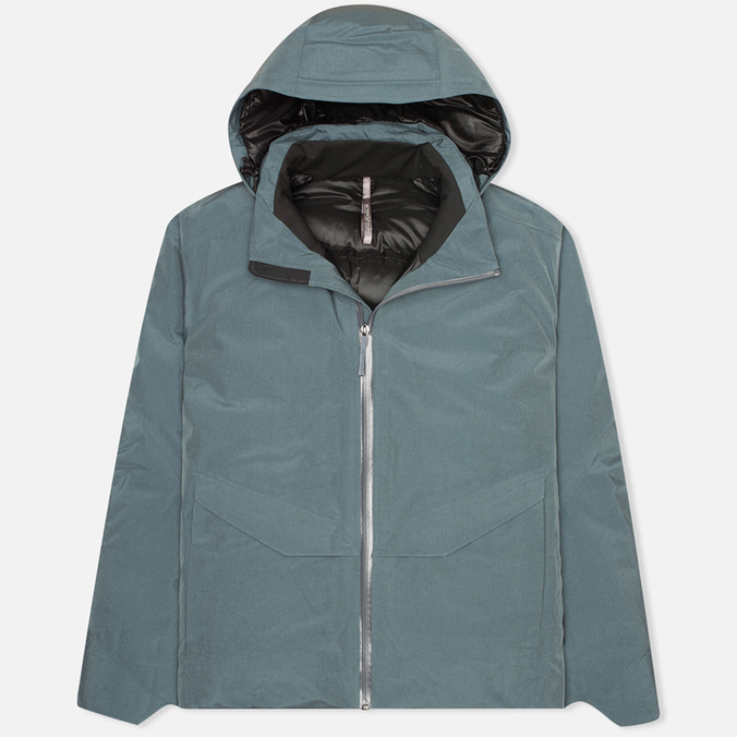 Мужская зимняя куртка Arcteryx Veilance Node Down Neptune