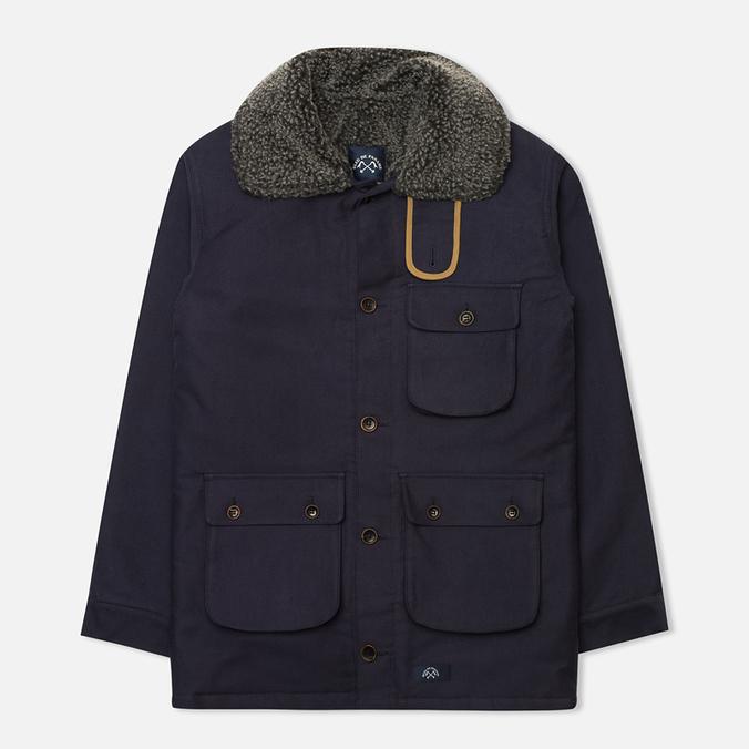 Bleu De Paname Double Comptoir Men's Winter Jacket Marine