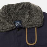 Bleu De Paname Double Comptoir Men's Winter Jacket Marine photo- 2
