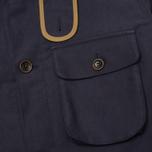 Bleu De Paname Double Comptoir Men's Winter Jacket Marine photo- 4
