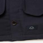 Bleu De Paname Double Comptoir Men's Winter Jacket Marine photo- 6