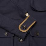 Bleu De Paname Double Comptoir Men's Winter Jacket Marine photo- 5