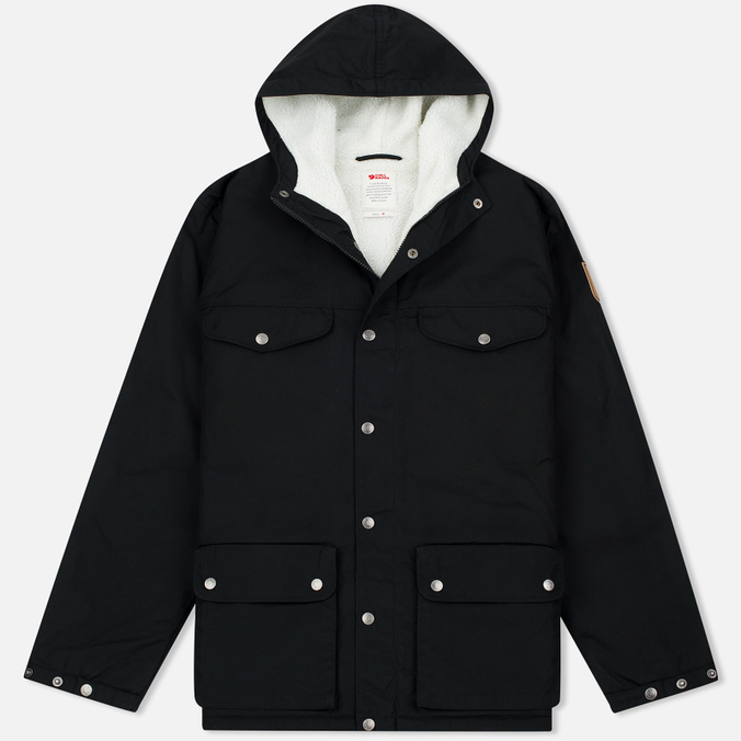 Fjallraven Greenland Men's Winter Jacket Black