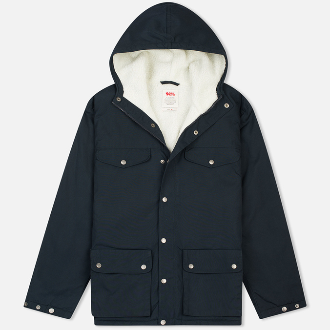 Мужская зимняя куртка Fjallraven Greenland Winter Dark Navy