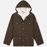 Fjallraven Greenland Men's Winter Jacket Dark Olive photo- 0