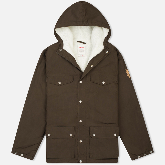 Fjallraven Greenland Men's Winter Jacket Dark Olive
