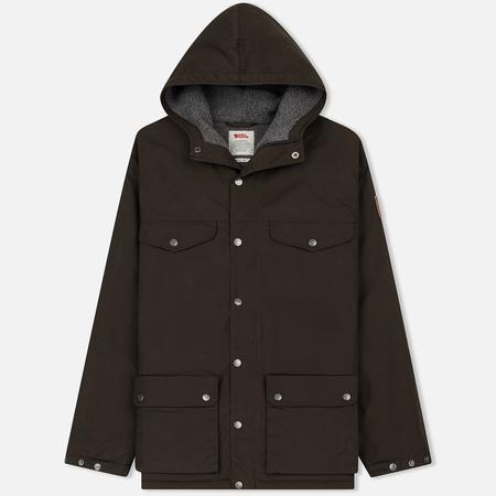 Мужская зимняя куртка Fjallraven Greenland Winter Dark Olive/Grey