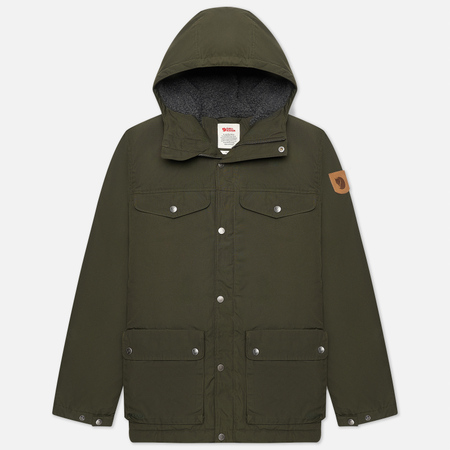 Мужская зимняя куртка Fjallraven Greenland Winter Deep M Forest