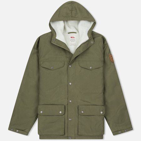 Fjallraven Greenland Men's Winter Jacket Green
