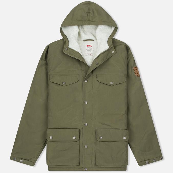 Мужская зимняя куртка Fjallraven Greenland Winter Green