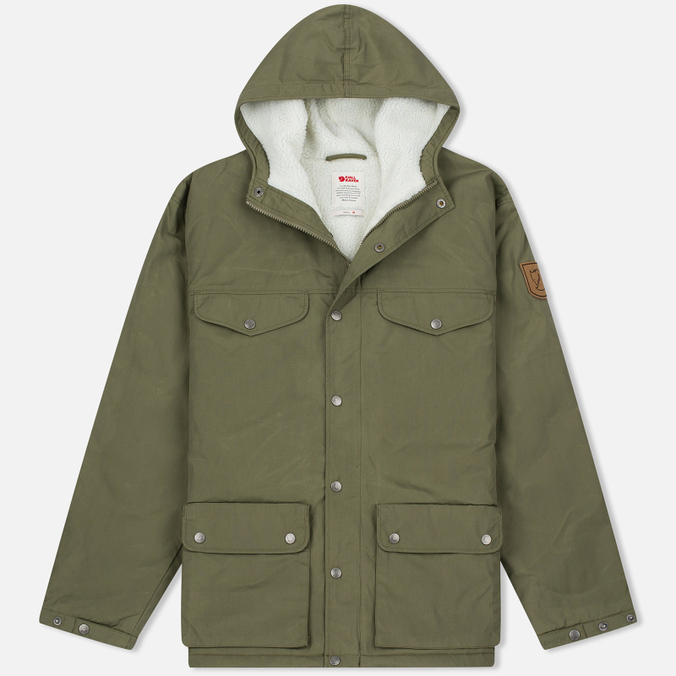 Fjallraven Greenland Men's Winter Jacket Green