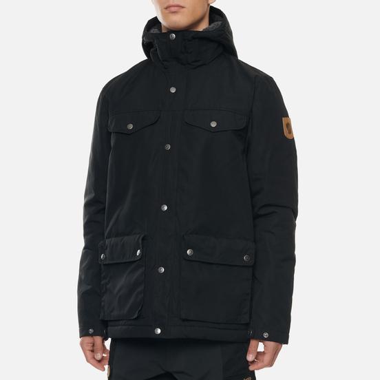 Мужская зимняя куртка Fjallraven Greenland Winter M Black