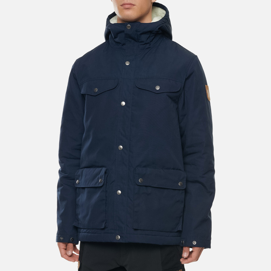 Мужская зимняя куртка Fjallraven Greenland Winter M Night Sky