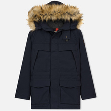 Мужская зимняя куртка Napapijri Skidoo Open Long 1 Blue Marine фото- 0