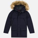Мужская зимняя куртка Napapijri Skidoo Open Long Blue Marine фото- 0