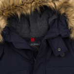 Мужская зимняя куртка Napapijri Skidoo Open Long Blue Marine фото- 2